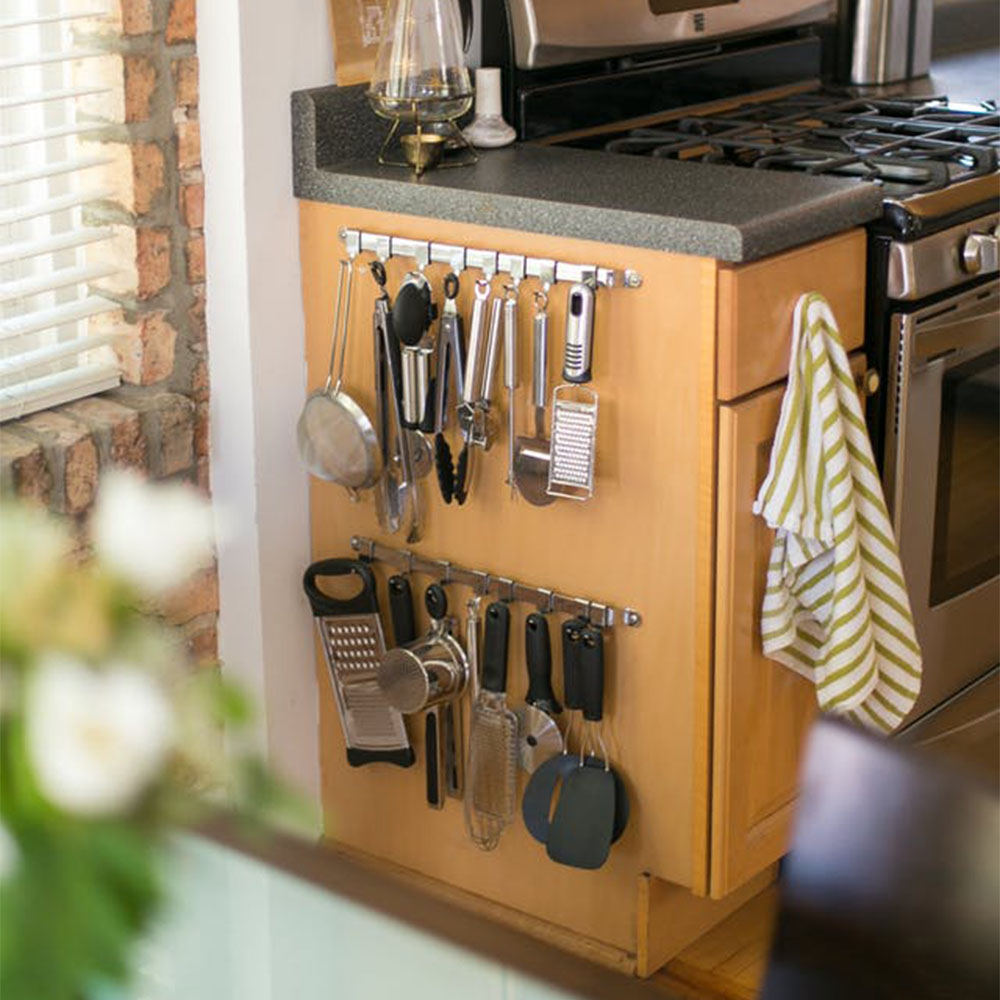 10+ Organizing Ideas To Make Full Use Of Your Kitchen Space