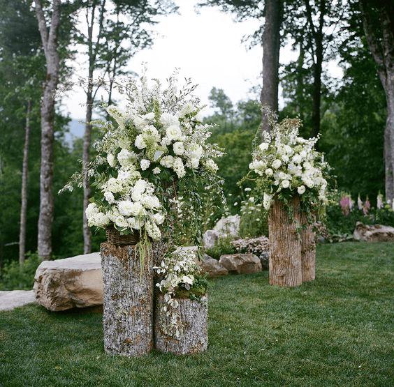 Homelysmart 10 Rustic Outdoor Wedding Decor Ideas