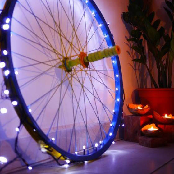 30 creative ways to upcycle old bicycle parts