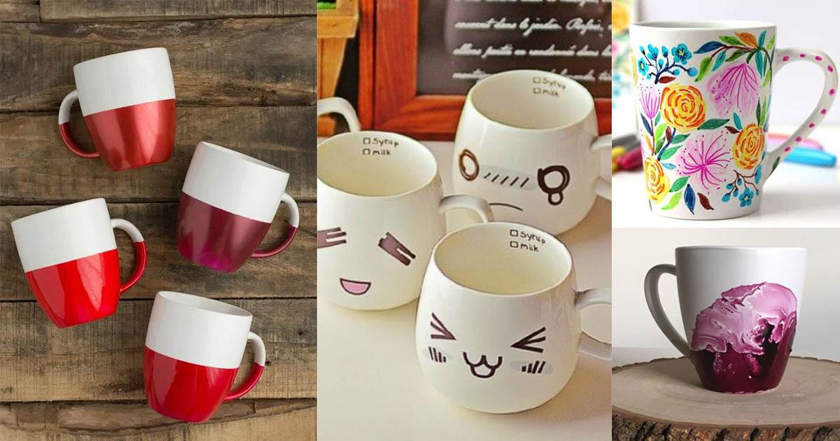 Homelysmart 13 Diy Coffee Mug Gift Ideas Homelysmart