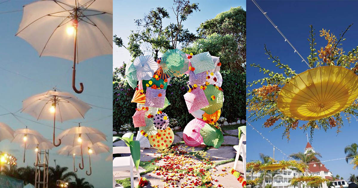 HomelySmart   15 Nice Decoration Ideas With Umbrella - HomelySmart
