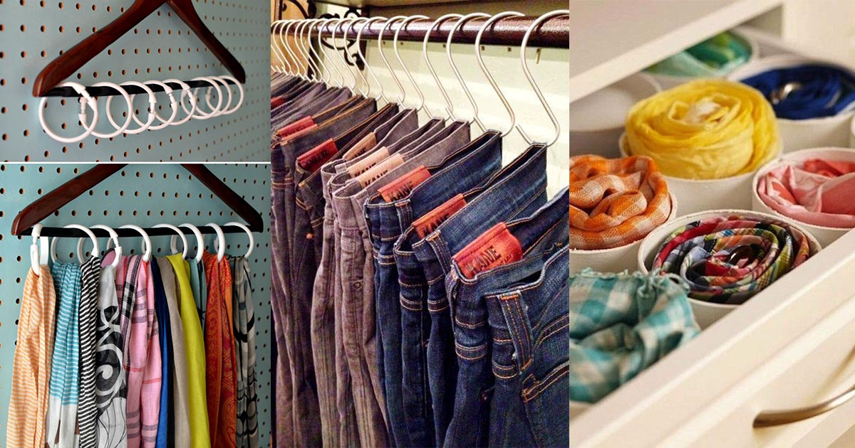 Homelysmart 10 ideas to help you organize your clothes - How to organize clothes without a closet ...