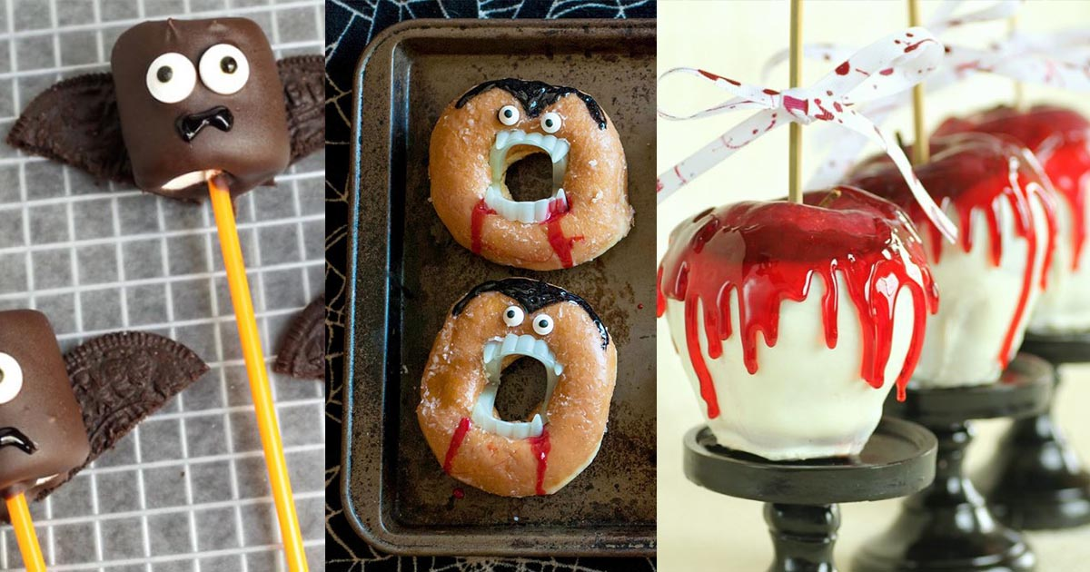HomelySmart | 10 Cute And Fun Vampire DIY Crafts And ...