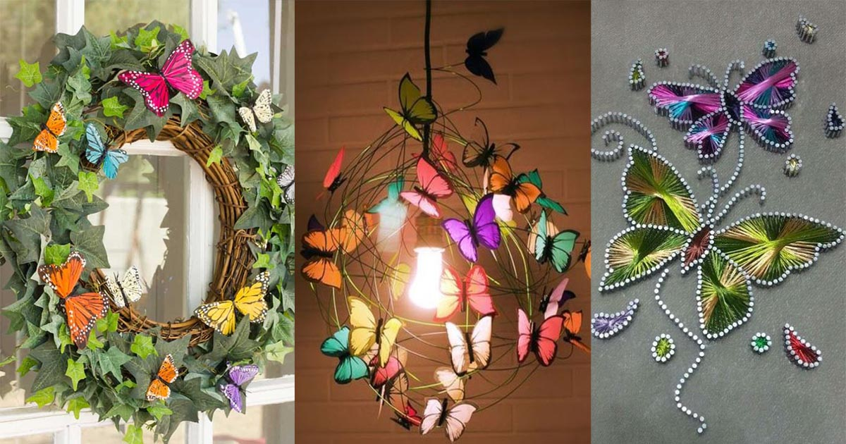 Butterfly Decorations For Home: 15 Butterfly Themed Decorations For That