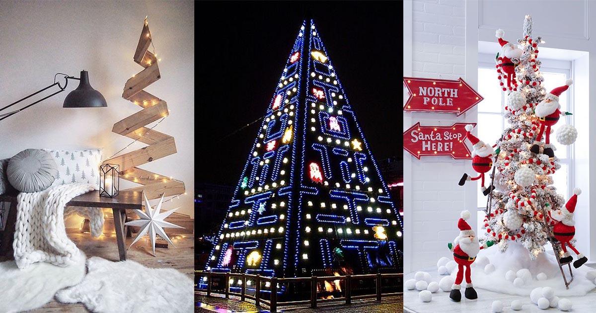 Wierd Christmas Ornament.Homelysmart 15 Weird Christmas Tree That Will Blow Your