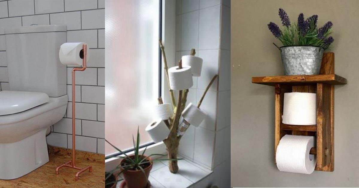 16 Diy Toilet Paper Storage Ideas For
