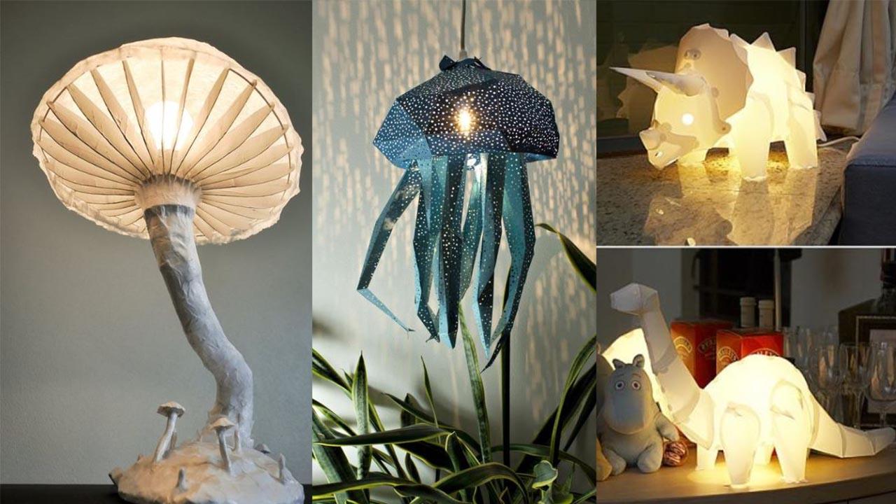 Homelysmart 15 Paper Light Diy To Rock Your Home Interior Homelysmart